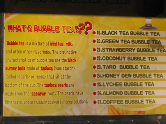 what's bubble tea
