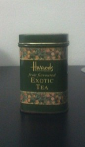 harrods exotic tea