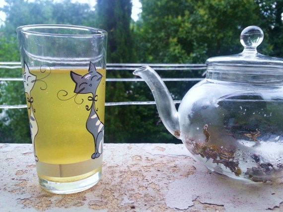 Ice-brewed green tea by Ilmioté blog