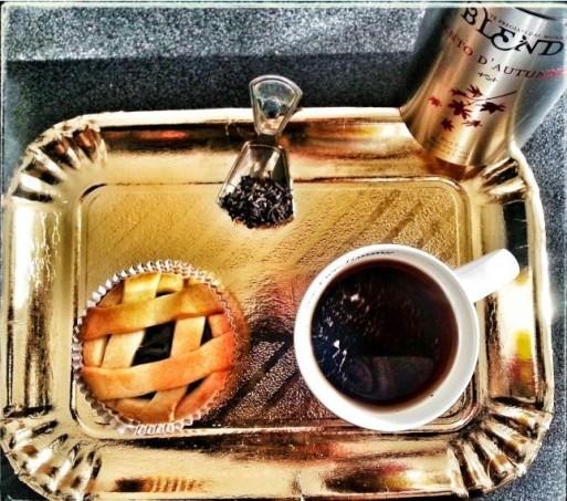 La mia colazione autunnale col té alla nocciola