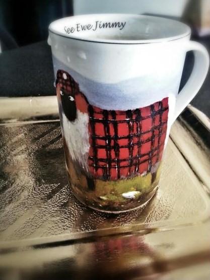 La tazza che arriva dalla Scozia