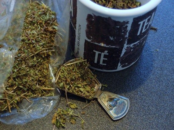 Gli strumenti per il Fileia Egyptian Green Tea