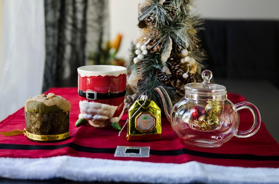 La nostra Chistmas Tea Table - Foto: Lorenzo Bagnoli