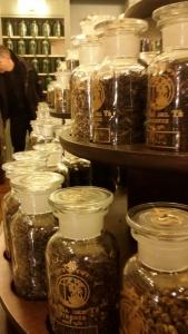 L'aromateca de La Via del Té