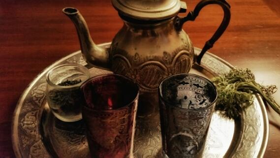 servizio da té marocchino