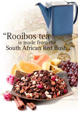 Ripetiamo insieme: il rooibos non è un té. Il rooibos non è un té