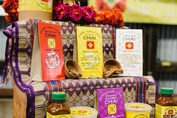 Chai in vendita al Sydney Tea Festival