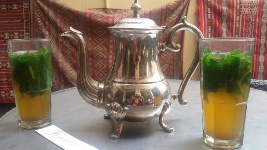 Il mio té alla menta a Tangeri