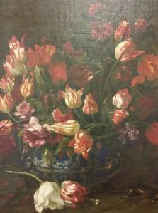 Vaso di fiori, dettaglio