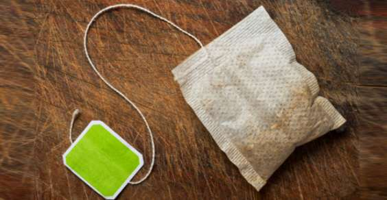 Una comunissima bustina di té. Credits: greenme.it