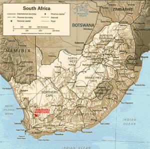 L'area di produzione del rooibos in Sudafrica. Credits: Manutee-factur.com