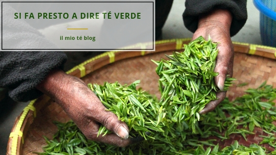 il mio té verde