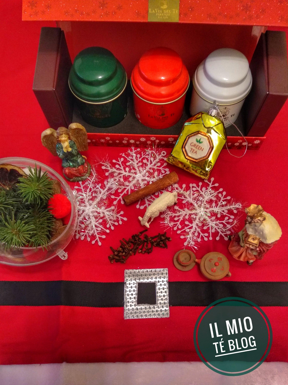 my christmas tea table