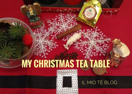 my christmas tea table
