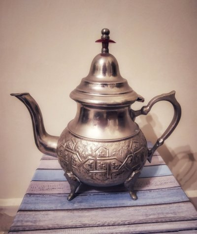 storia di una teiera marocchina