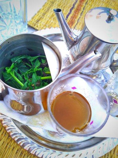 thé à la menthe Place jemaa el-fna