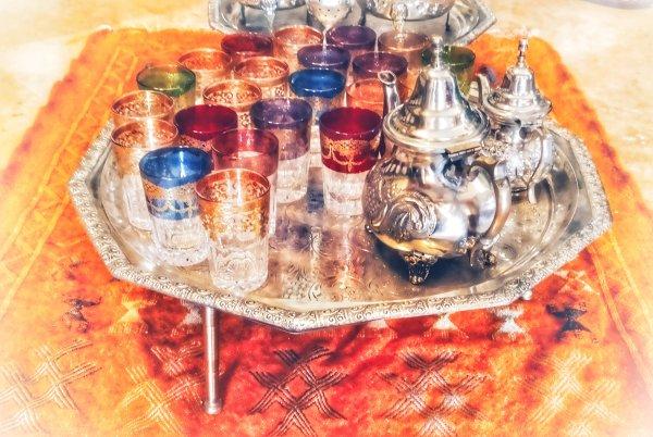 thé à la memthe fait maison