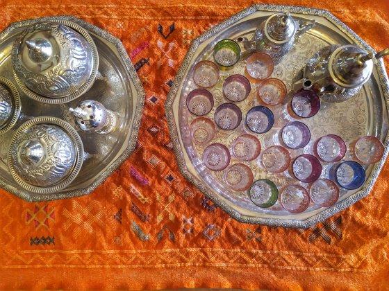 il mio té alla menta a Marrakech