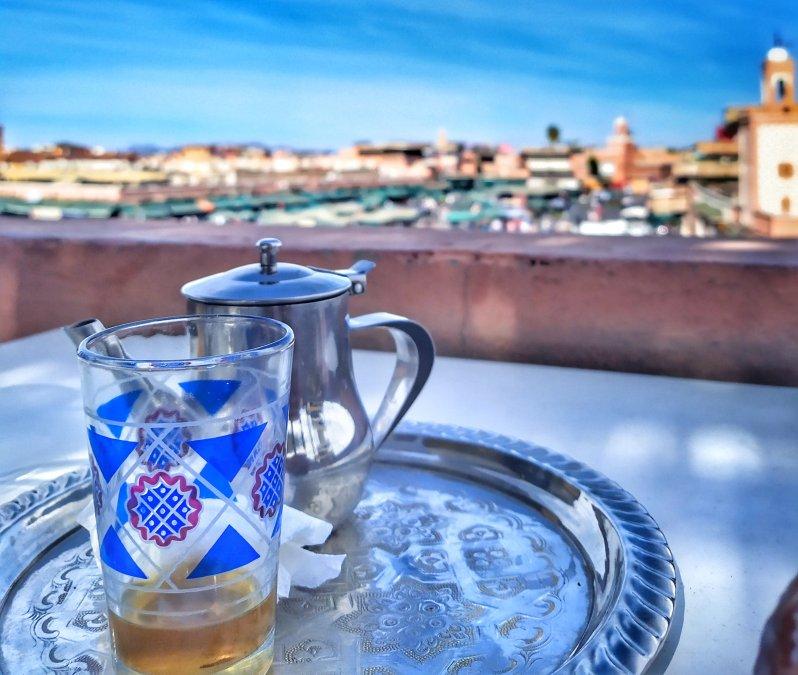 thé à la menthe Marrakech